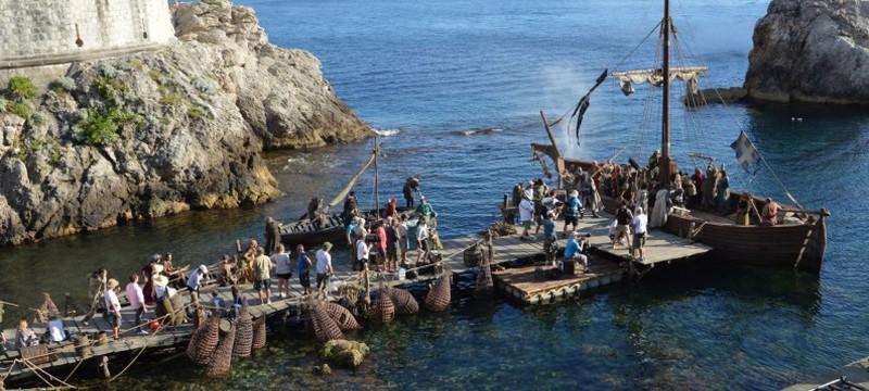 U Dubrovniku u tijeku snimanje serije 'Knightfall'