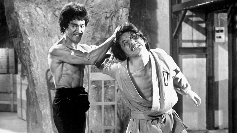 Bruce Lee i Jackie Chan (U zmajevom gnijezdu, 1973.)