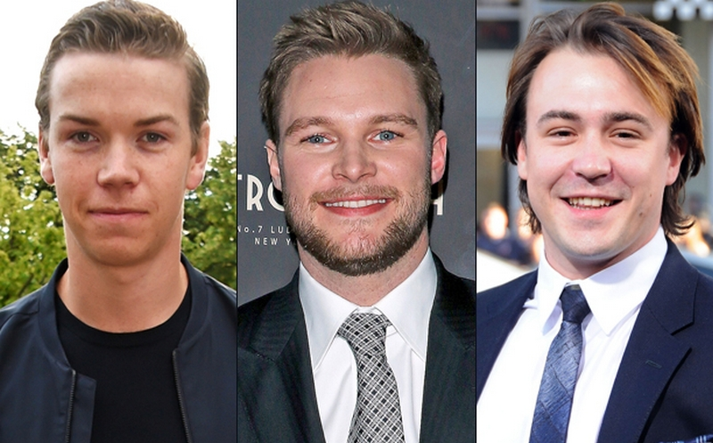Ben O'Toole, Jack Reynor i Will Poulter