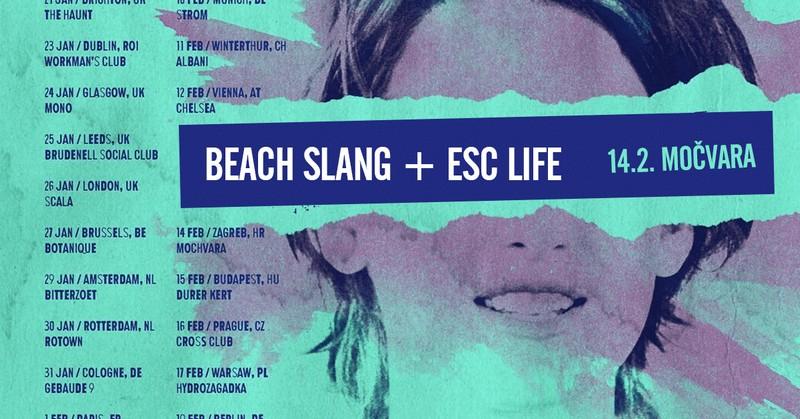 Beach Slang i ESC Life (koncert Močvara) [St 1]