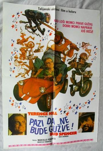 Pazi da ne bude gužve (Watch Out We're Mad, 1974) [poster]