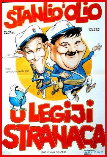 Stanlio i Olio U legiji-stranaca (The Flying Deuces, 1939) [poster]