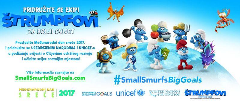 Štrumpfovi Izgubljeno selo (suradnja sa UNICEF-om) [St1]