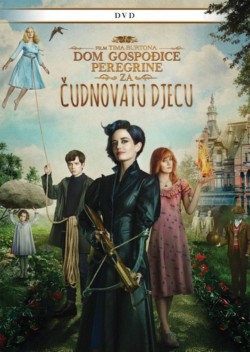 Dom gospođice Peregrin za čudnovatu djecu (Miss Peregrine's Home For Peculiar Children, 2016) [cover]