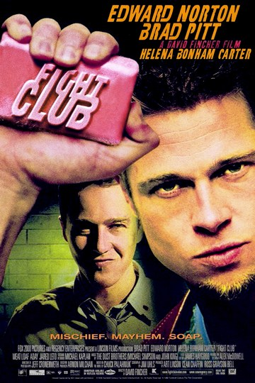Klub boraca_(Fight Club, 1999) [poster]