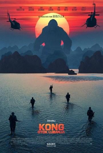 Kong Otok lubanaj (Kong Skull Sland, 2017) [poster]