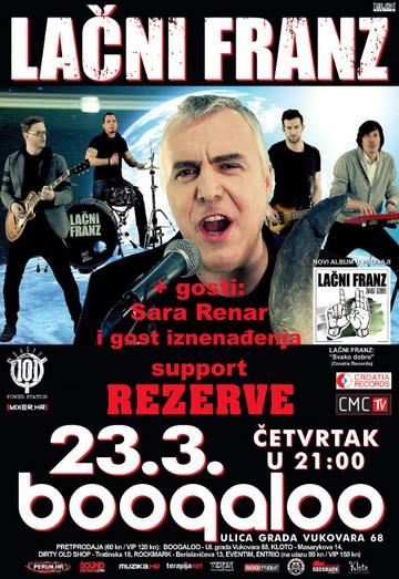Lačni Franz (koncert Boogaloo) [poster]