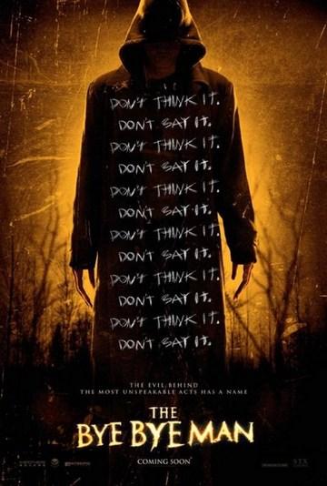 The Bye Bye Man (2017) [poster]
