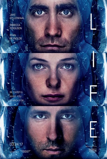 Trag života (Life, 2017) [poster]