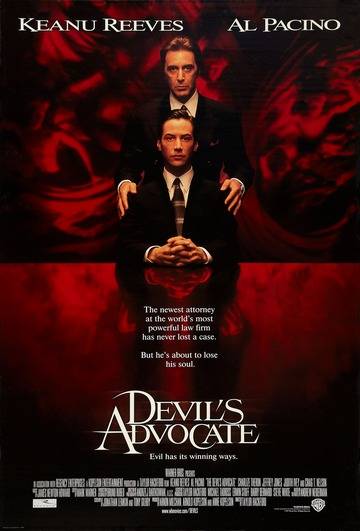 Đavolji odvjetnik (The Devil's Advocate, 1997) [poster]