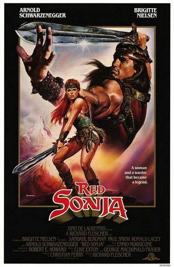 Crvena Sonja (Red Sonja, 1985) [poster]