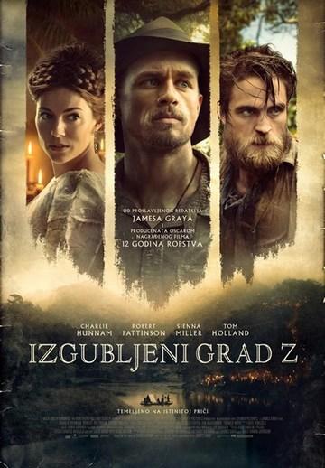 Izgubljeni grad Z (The Lost City Of Z, 2017) [poster]