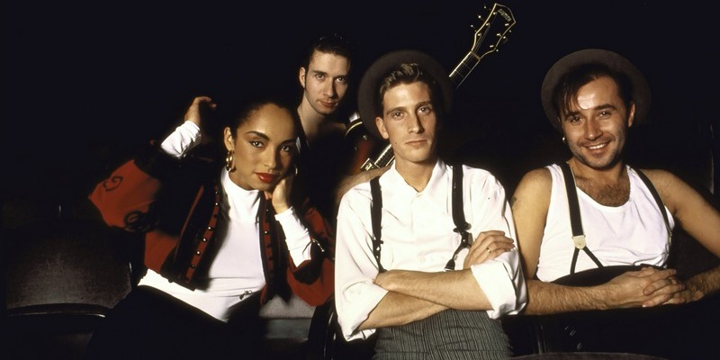 British pop group Sade (L-R): Sade Paul Denman Andrew