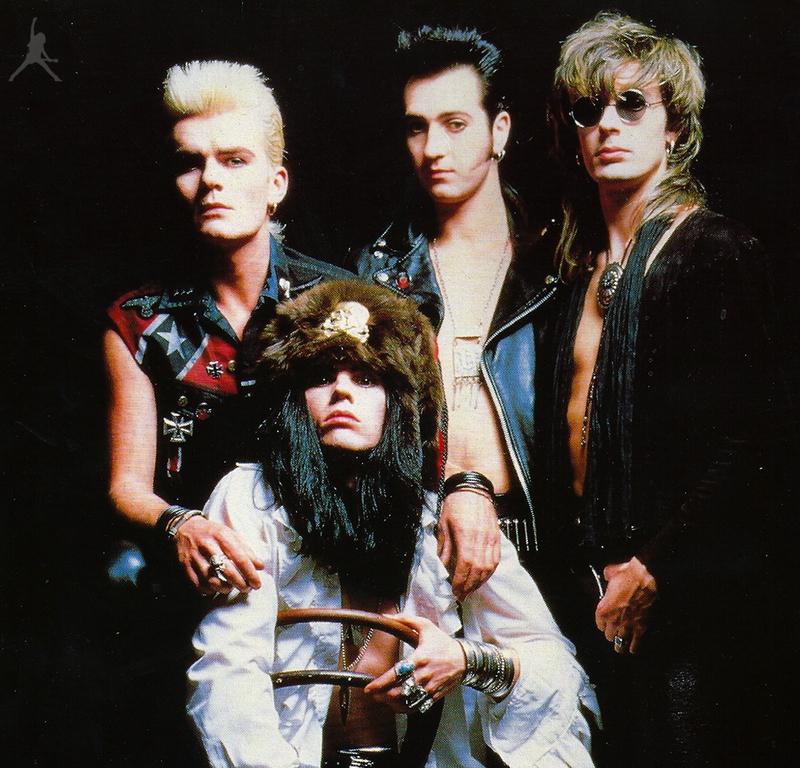 The Cult 1987. u vrijeme snimanja legendarnog albuma Electric