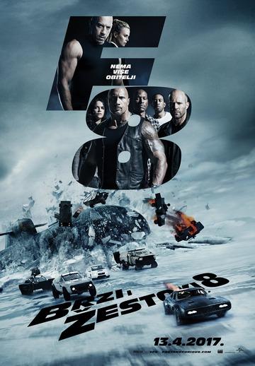 The Fast Of The Furious (Brzi i žestoki 8, 2017) [poster]