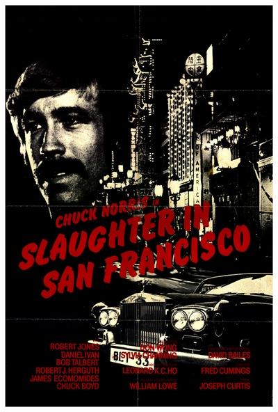 Zavjera u San Franciscu (Slaughter In San Francisco, 1974) [poster]